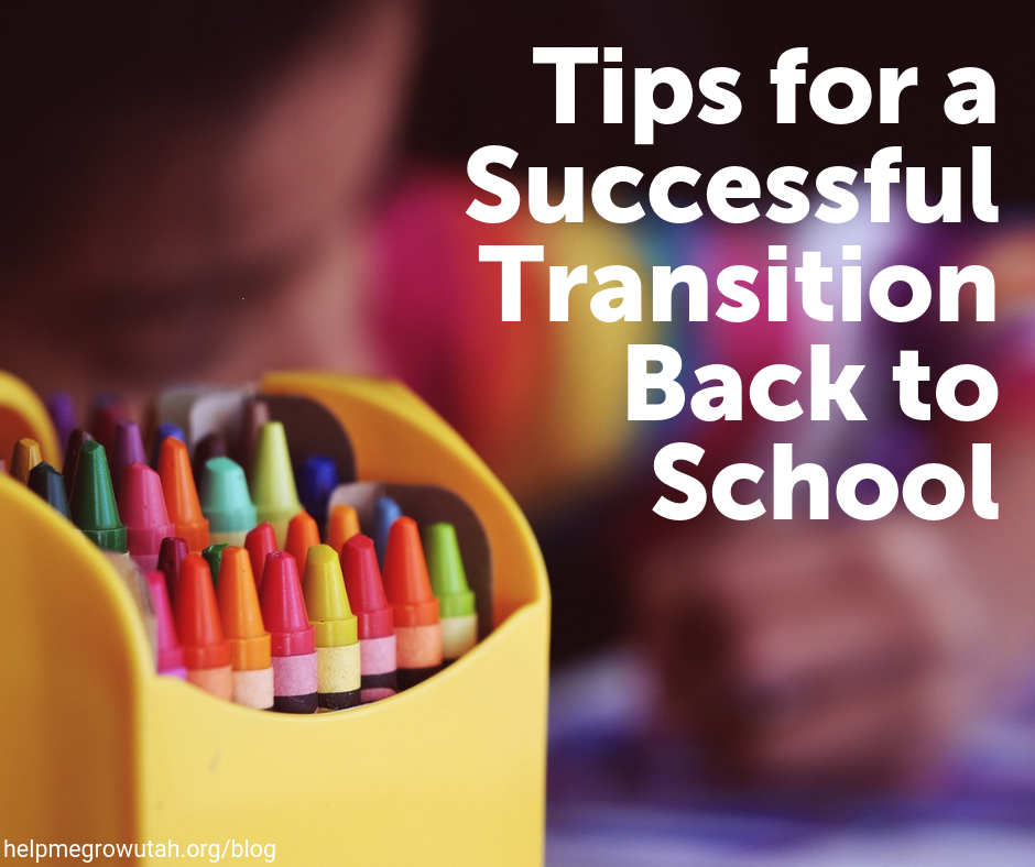 Tips for a Successful Transition Back to School