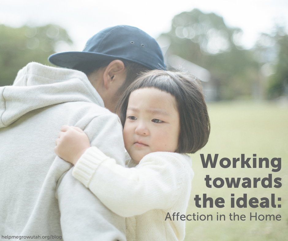 Working towards the ideal: Affection in the Home