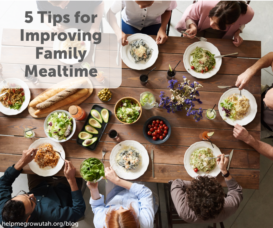 5 Tips for Improving Family Mealtime