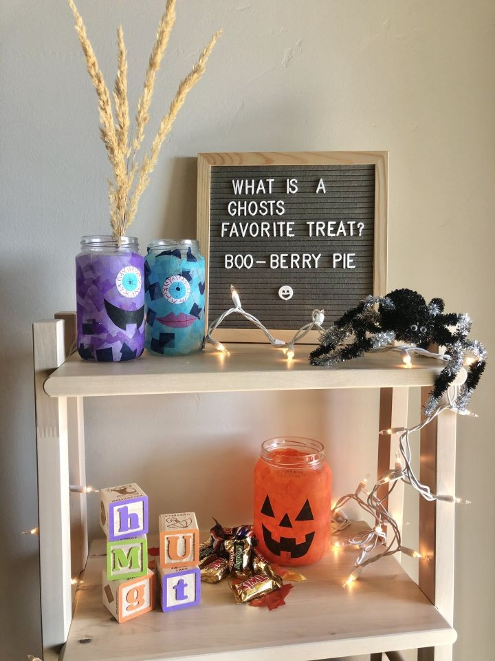 DIY Halloween Luminaries for Kids