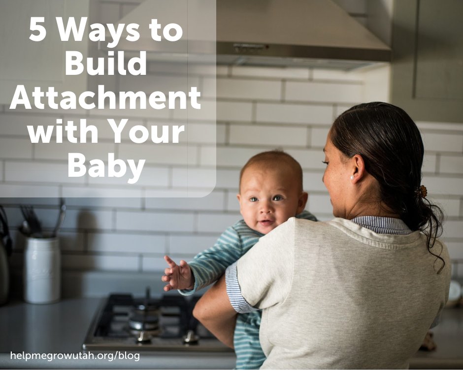 5 Ways to Build Attachment with Your Baby