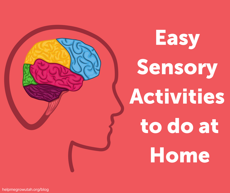 Easy Sensory Activities to do at Home