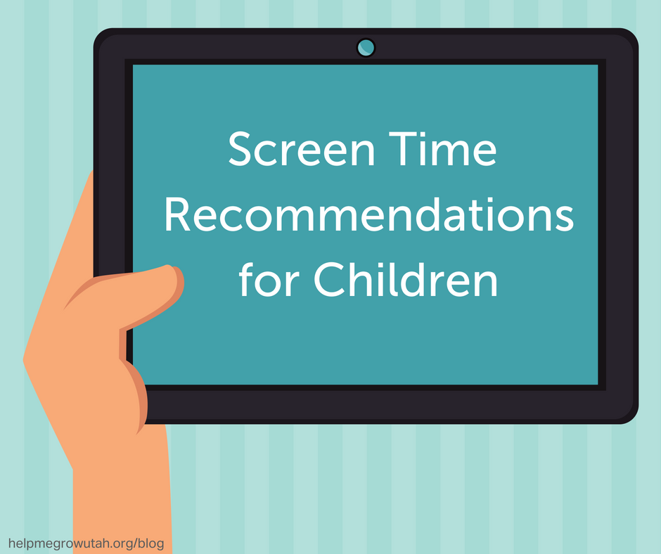 Screen Time Recommendations for Children