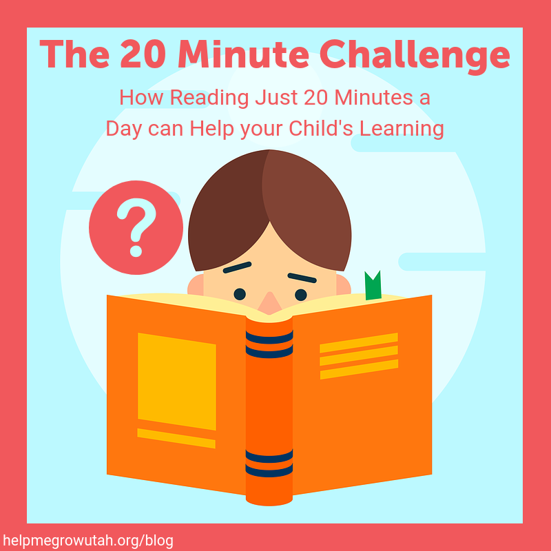 The 20 Minute Challenge: How Reading Just 20 Minutes a Day Can Help your Child's Learning