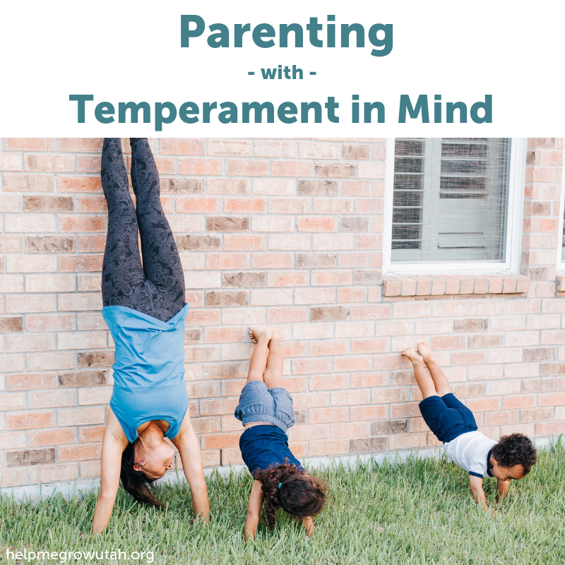 Parenting with Temperament in Mind